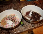 I've even been able to make two of these cakes at the same time, with different additions, to make two totally different cakes.